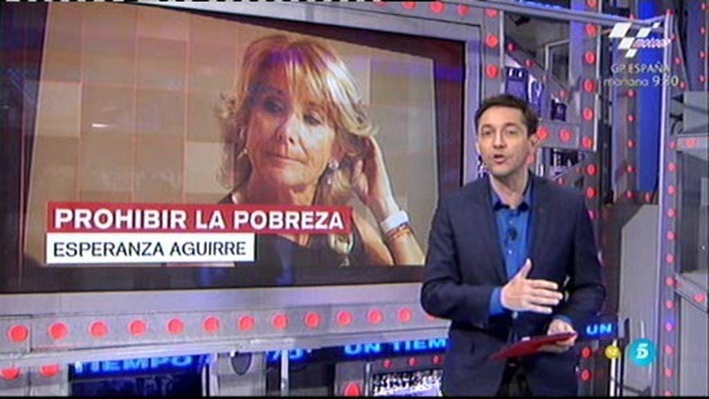 Las respuestas de las ONG's a la polémica propuesta de Esperanza Aguirre