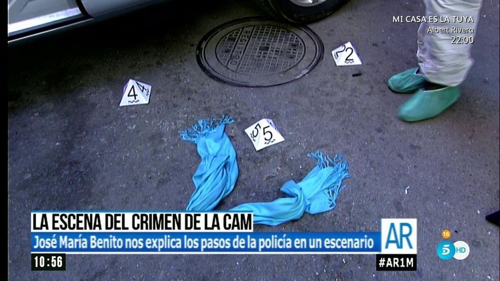 'AR' recrea la escena del crimen de la CAM en los estudios de Mediaset