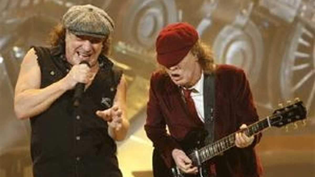 AC/DC visita Madrid. Vídeo: Informativos Telecinco