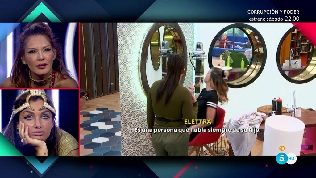 """Elettra, sobre Ivonne: """"Para mí es una víbora"""""""