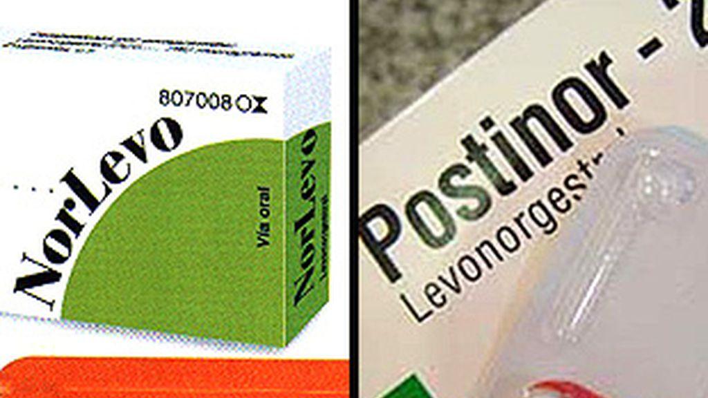 Norlevo de Chiesi España y Postinor de Bayer-Schering-Pharma, los dos fabricantes de la píldora postcoital.