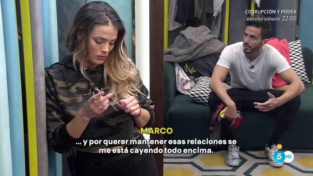 """Alyson, sobre Marco Ferri  y Aylén Milla: """"Es una relación aburrida"""""""