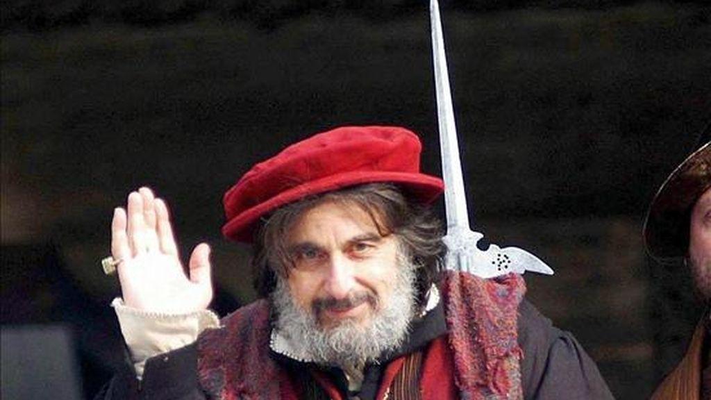 """Pacino, de 68 años, se embarcó previamente en """"The Merchant of Venice"""" (2004), donde dio vida al usurero judío Shylock, que busca venganza tras haber sido humillado. EFE/Archivo"""