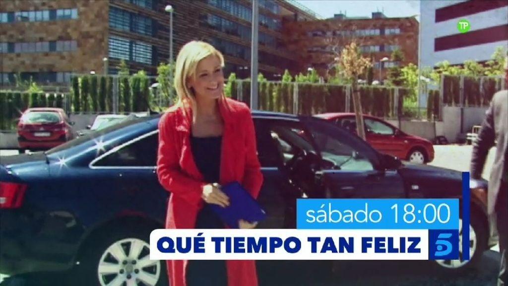 Cristina Cifuentes y El Cordobés visitan el sábado a las 18h. 'Qué tiempo tan feliz'