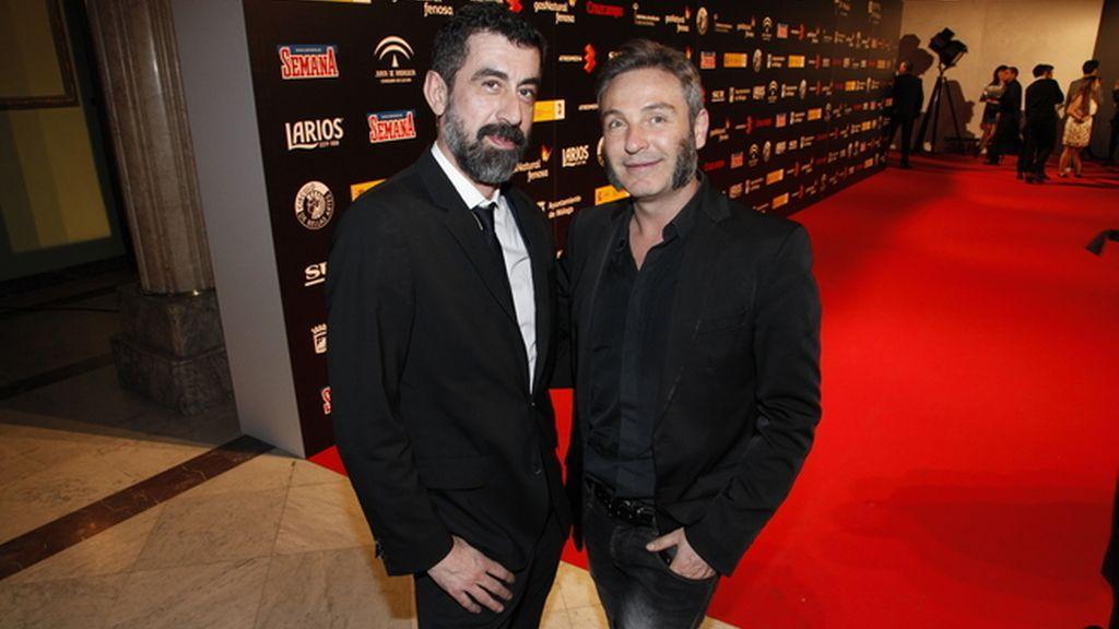 Piti Alonso y David Sánchez, de DyP comunicación, hicieron de la fiesta un éxito