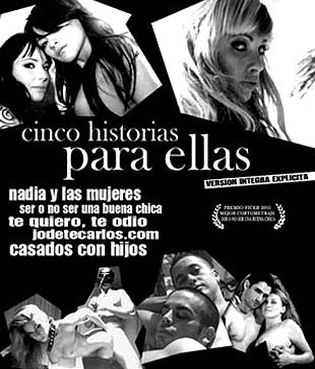 Cartel de la película 'Cinco historias para ellas'.