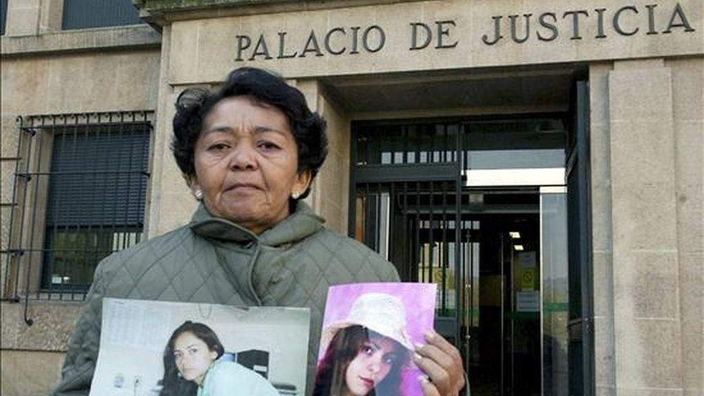 María Lindalva Silva, madre de la brasileña María Socorro Dasilva, asesinada y arrojada al río Avia por Ramón F.A. el pasado febrero. EFE/Archivo