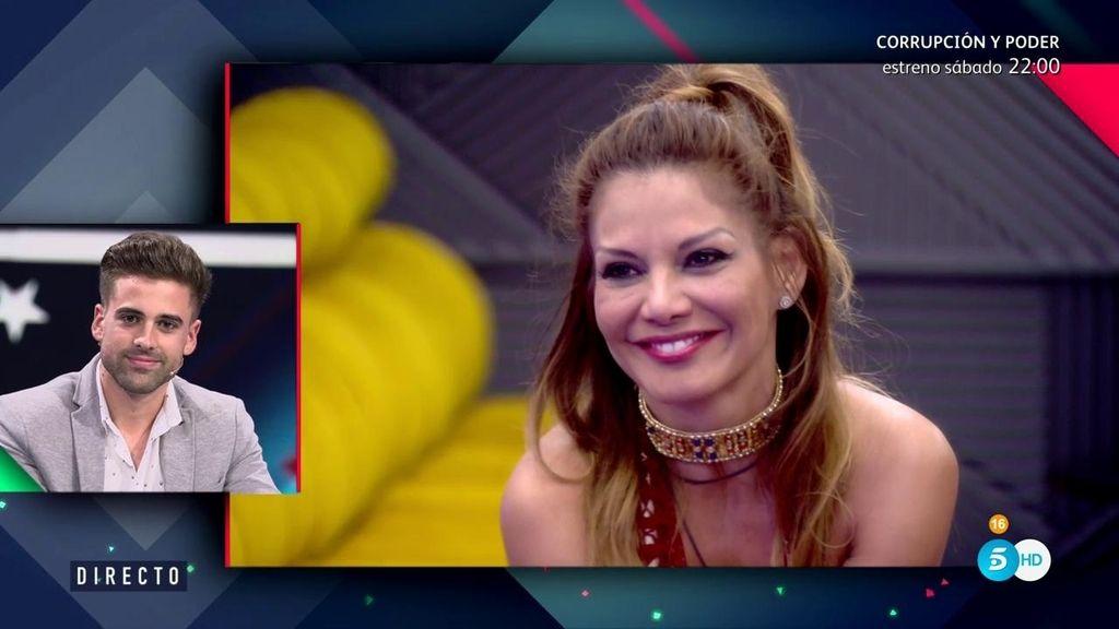 "Ivonne Reyes, a Sergio Ayala: ""Te quiero mucho, te amo"" 😍"