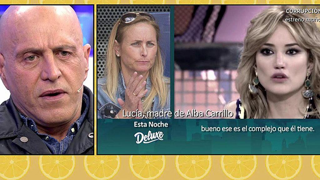 """La madre de Alba Carrillo, contra Matamoros: """"¿Tiene sentimientos? Está desinformado"""""""
