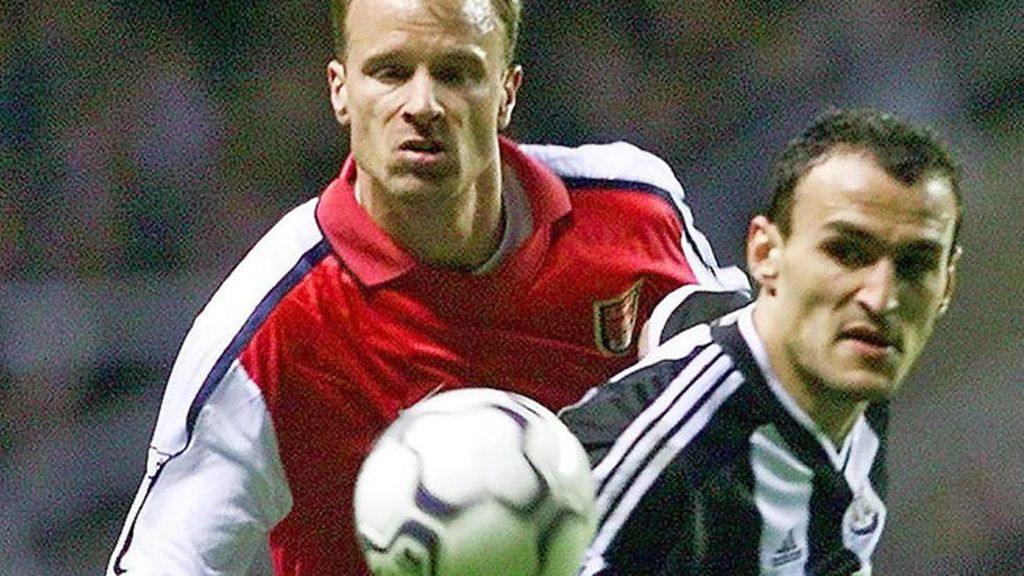 Dennis Bergkamp, Arsenal, Newcastle