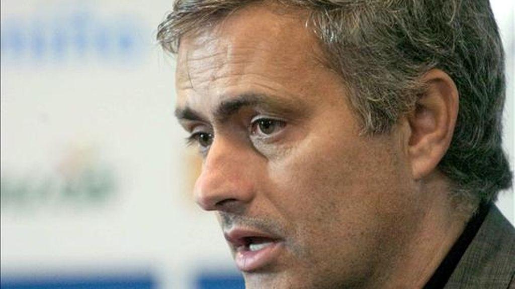 El entrenador portugués del Real Madrid, José Mourinho. EFE
