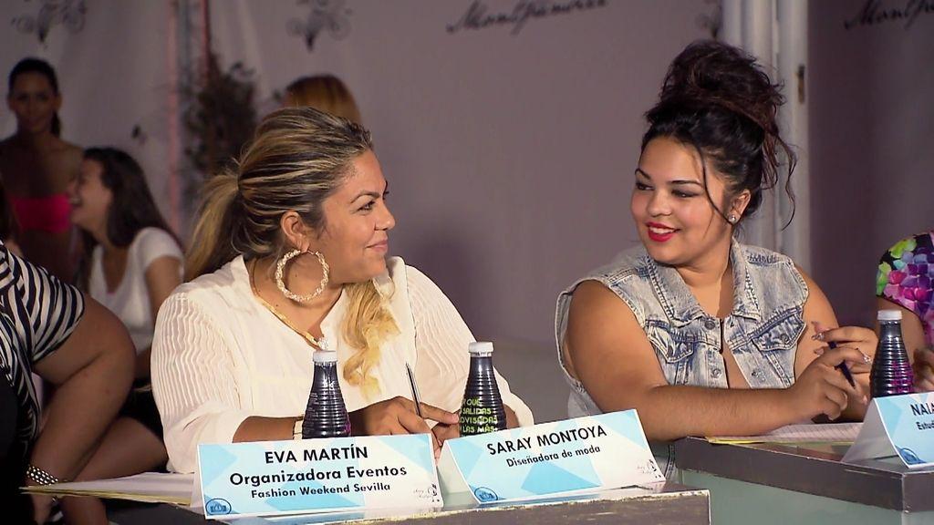Naiara, revolucionada con los modelos que llegan al casting de Saray