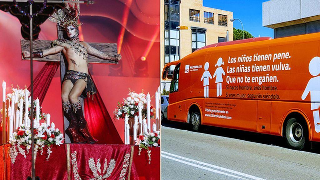 Varios obispos desatan una tormenta en Twitter por la virgen Drag Queen de Las Palmas