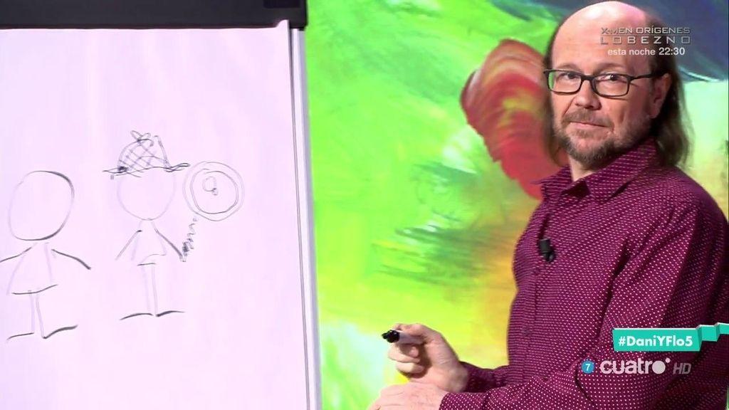 ¿Qué serie es? Santiago Segura acepta el reto del dibujo de Flo y Dani Martínez