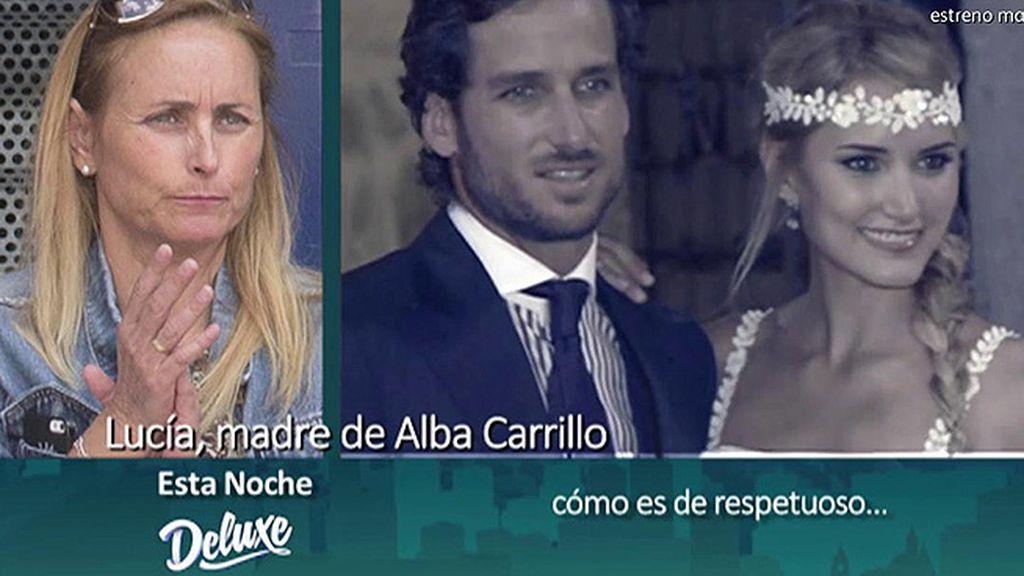 """Lucía, madre de Alba Carrillo: """"Mi hija no es el verdugo, es la víctima"""""""