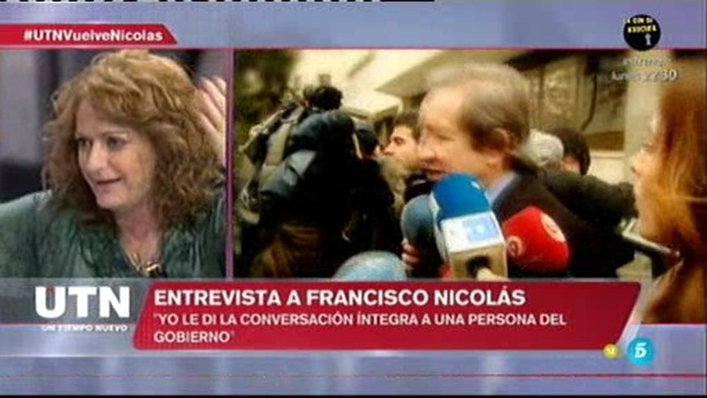 """Francisco Nicolás: """"Zarzuela me informa que el CNI me estaba vigilando"""""""