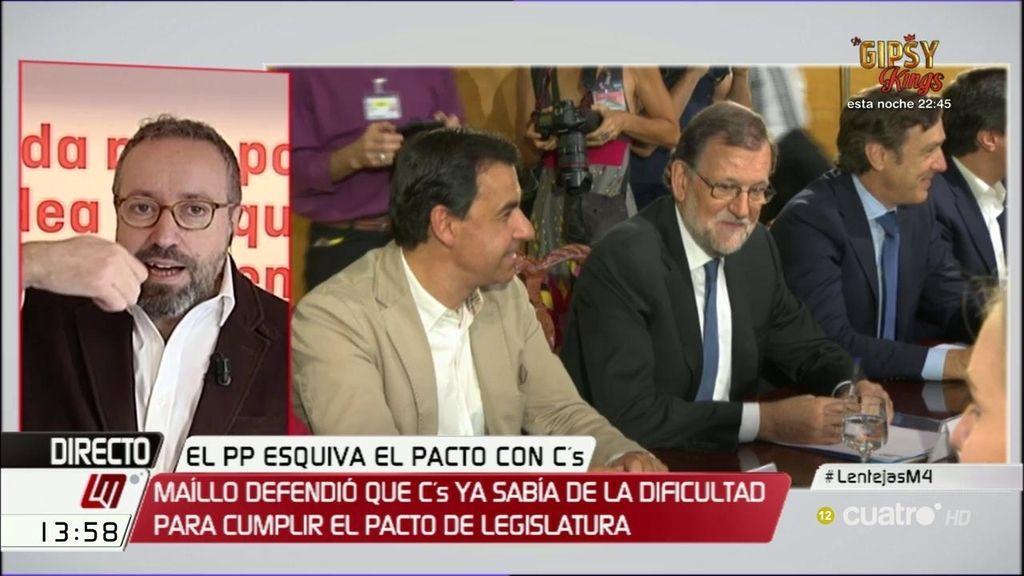 """Girauta, sobre el 'pacto de lentejas' con el PP: """"Yo creo que sí se las van a tragar"""""""