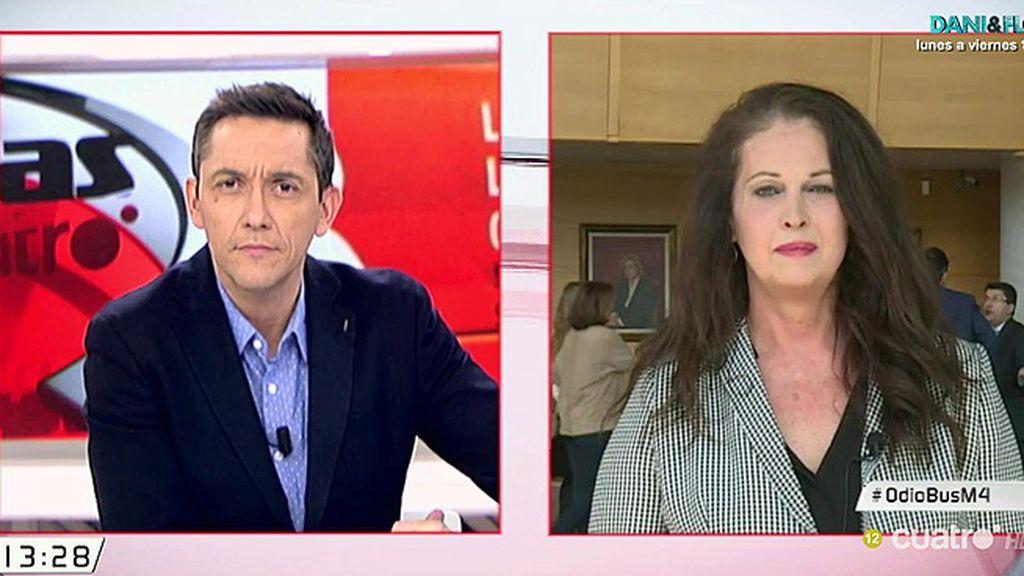 """Carla Antonelli: """"Hazte Oír' quiere enfrentar a la sociedad e incitar al odio contra niños transexuales"""""""