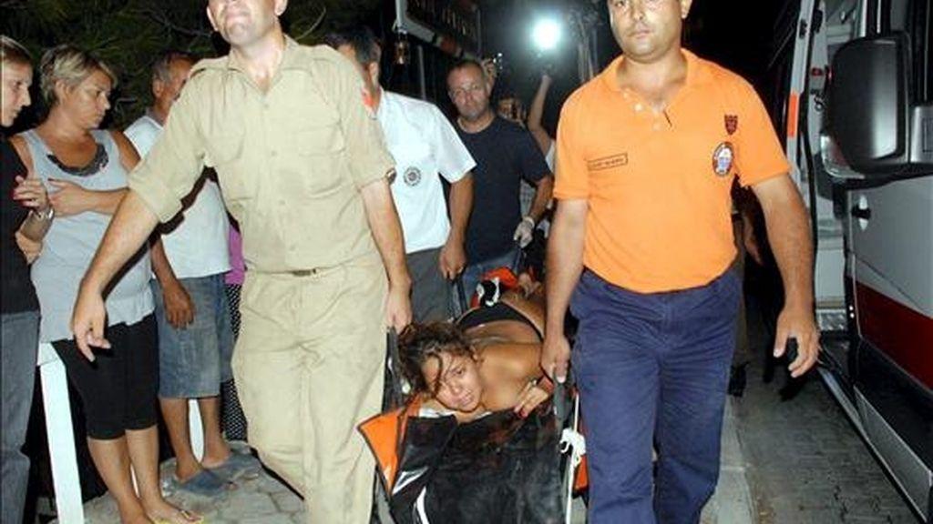 Los otros pasajeros pudieron ser rescatados. Vídeo: Informativos Telecinco.
