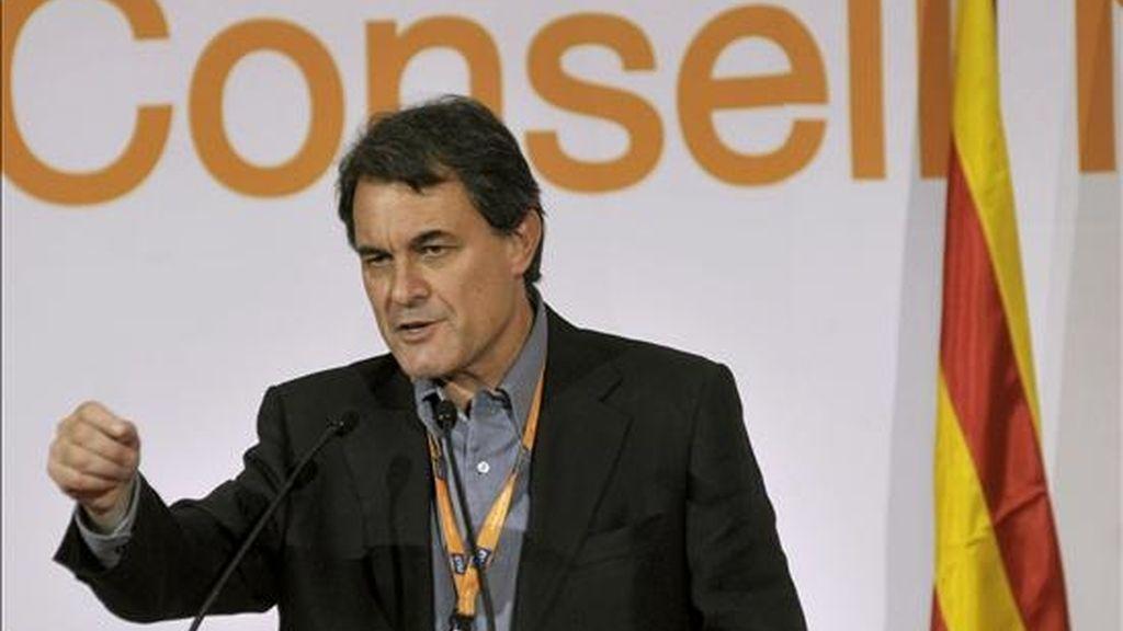 El líder de CiU, Artur Mas. EFE/Archivo