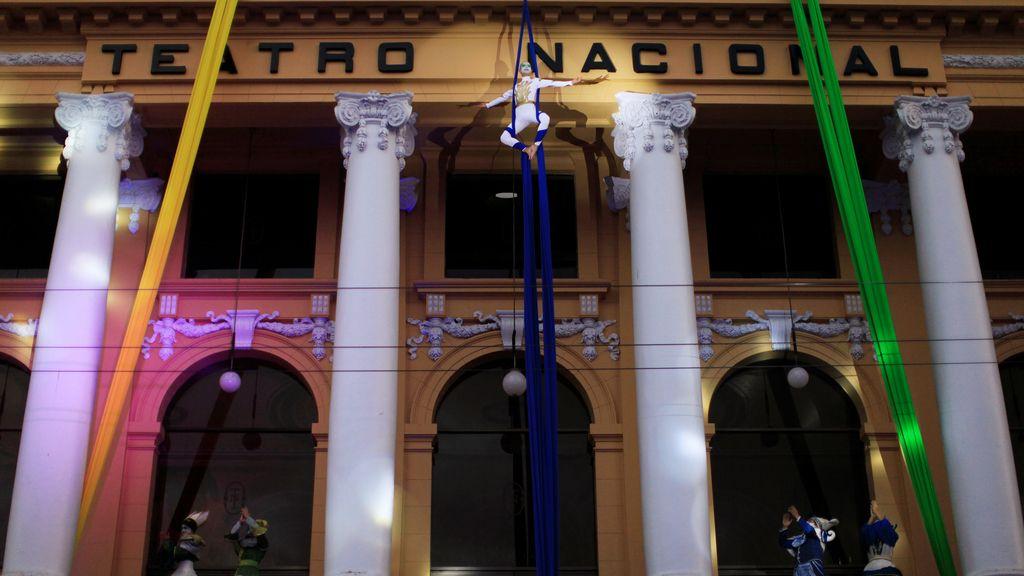 Performance en el Teatro Nacional