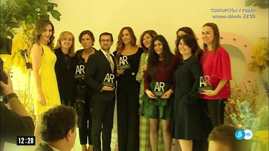 La celebración de la novena edición de los premios de belleza de la revista 'AR'