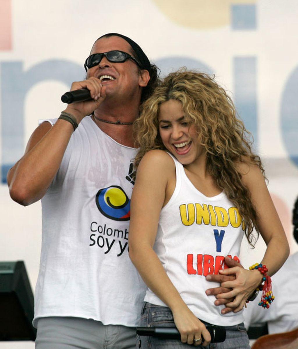 Shakira y Carlos Vives,