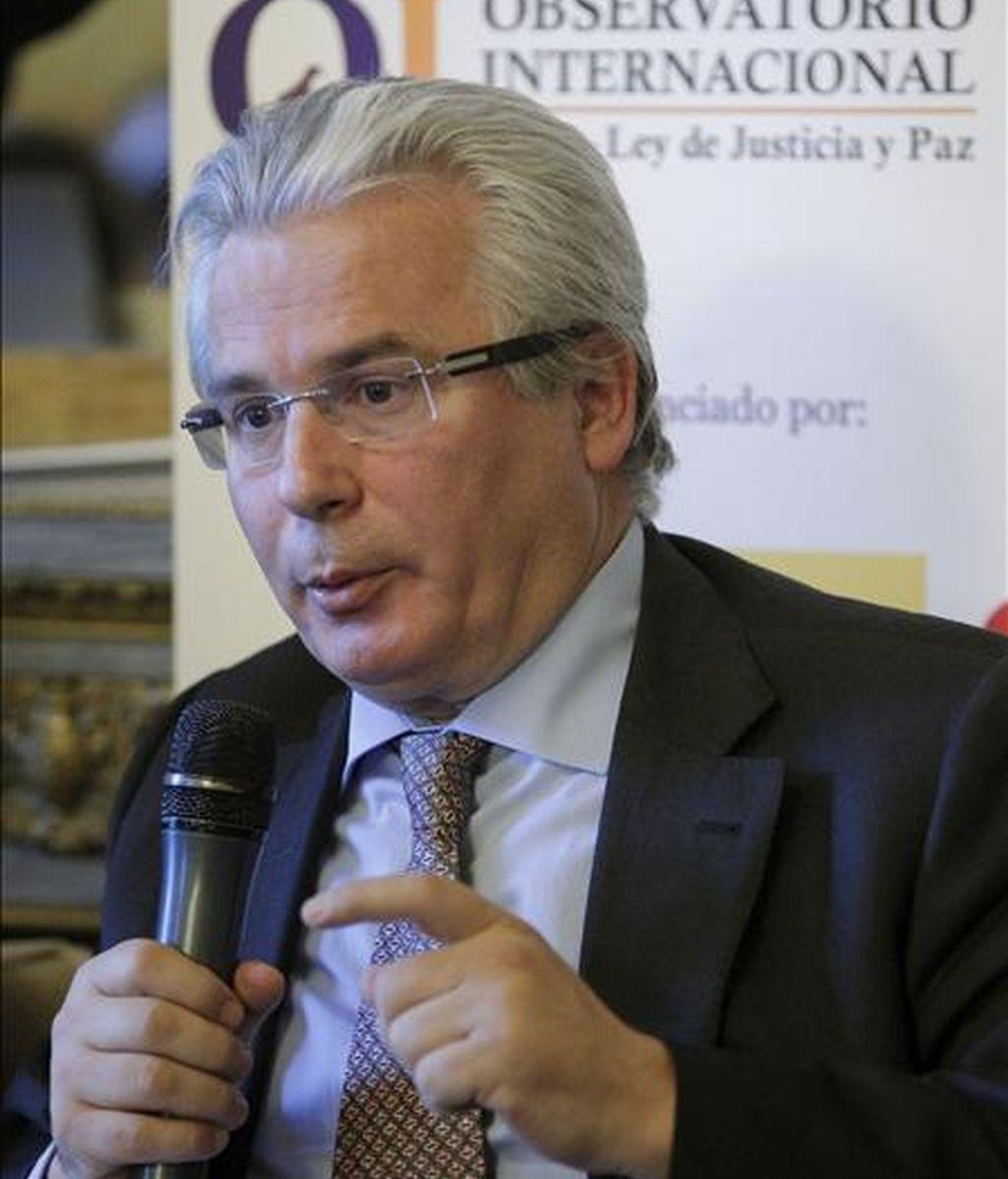 El juez Baltasar Garzón. EFE/Archivo
