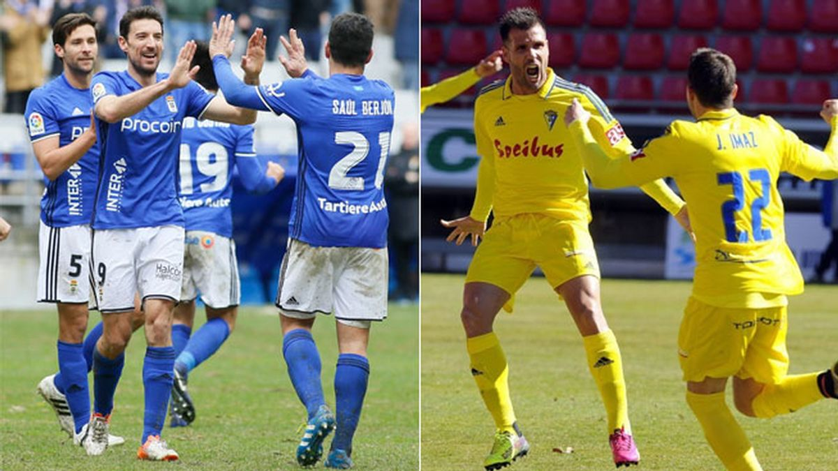 Real Oviedo,Cadiz,Segunda Division
