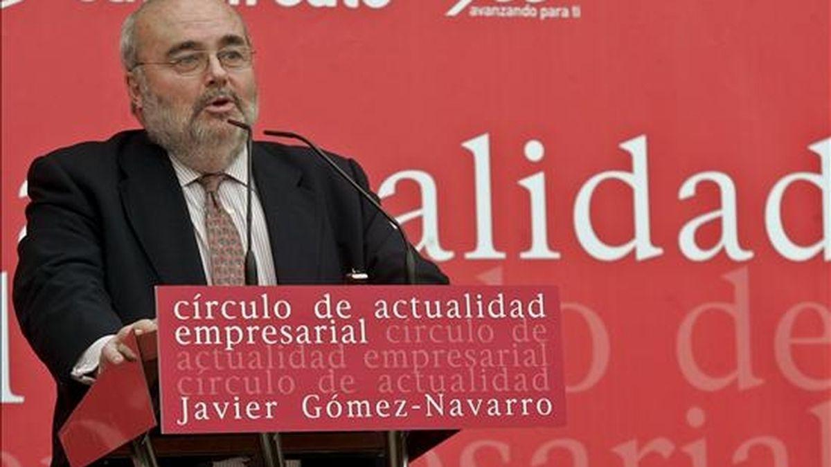 El presidente del Consejo Superior de Cámaras de Comercio, Industria y Navegación, Javier Gómez Navarro. EFE/Archivo