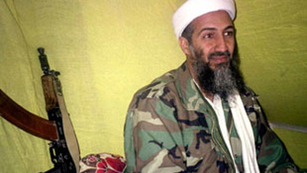 Imagen de archivo del ex líder de Al Qaeda, Osama Bin Laden. Foto:EFE.