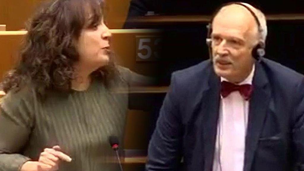 Un eurodiputado polaco dice que las mujeres deben cobrar menos por ser inferiores