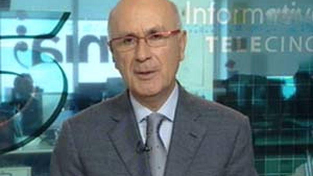 Josep Antoni Duran i Lleida, secretario general del CiU, en La Mirada Crítica