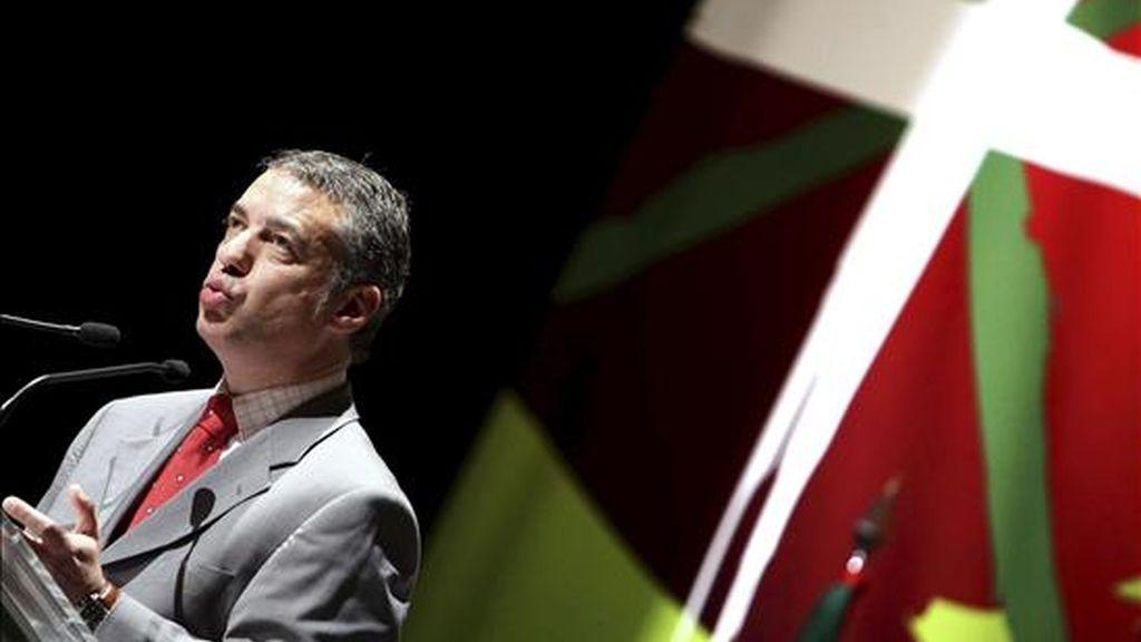 Íñigo Urkullu, presidente del PNV. EFE/Archivo