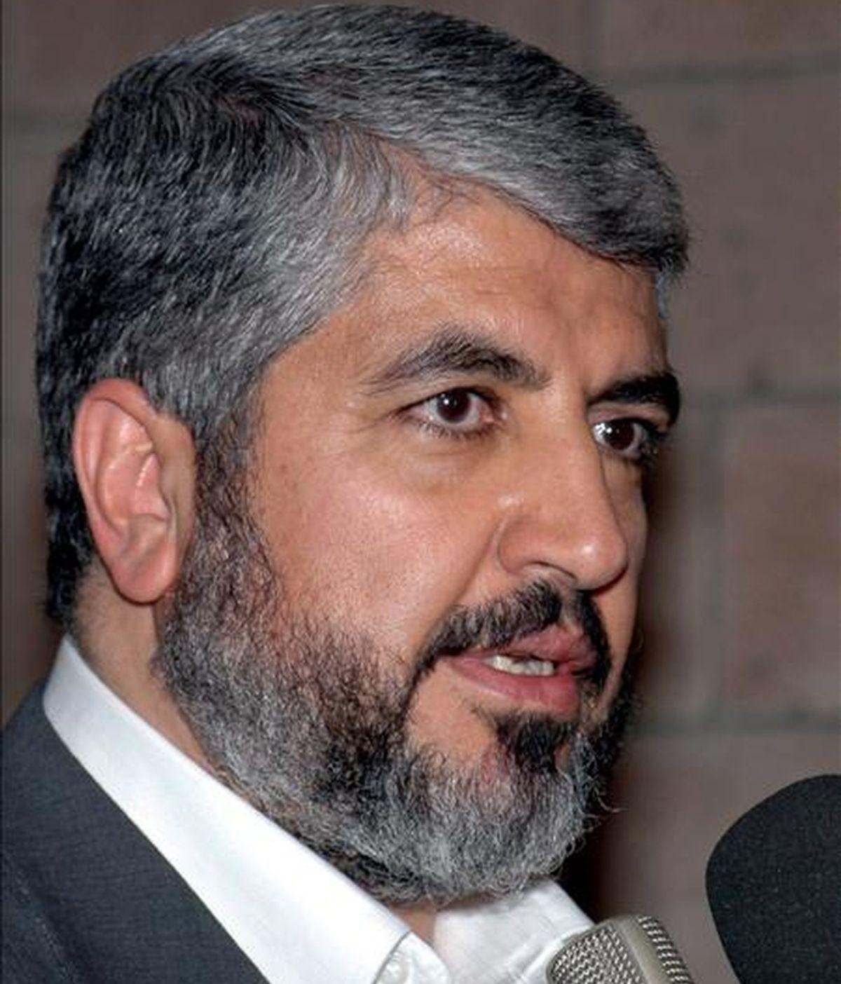 El máximo dirigente de Hamás, Jaled Meshal. EFE/Archivo