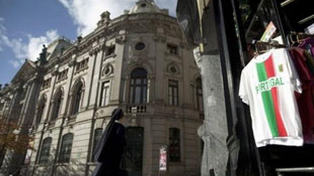Imagen de archivo del Banco de Portugal. Foto: AP.