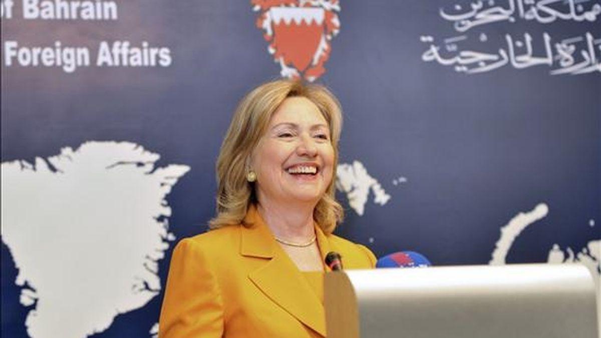La jefa de la diplomacia estadounidense se dirigió directamente a la delegación iraní para pedirle que se tome en serio el diálogo del grupo 5+1, formado por los cinco países permanentes del Consejo de Seguridad de la ONU (EE.UU., Rusia, China, Francia y Reino Unido) más Alemania. EFE/Archivo