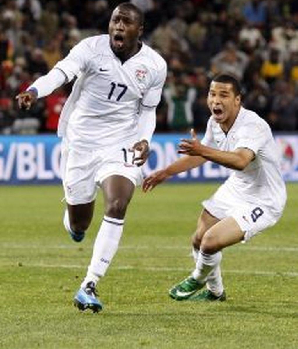 Jozy celebra el gol ante España. Foto: Reuters