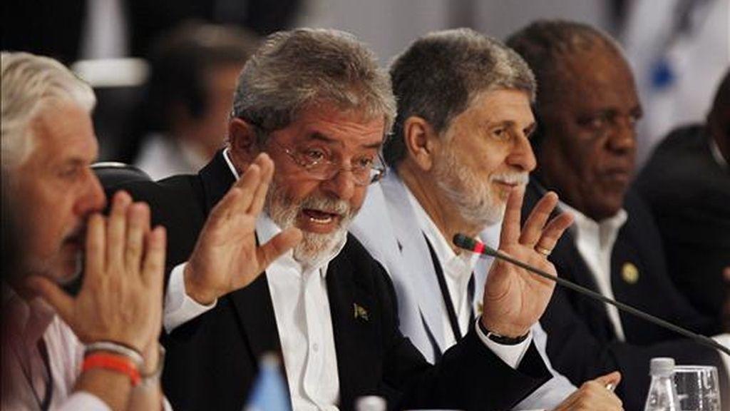 La creación de este organismo se aprobó el 16 de diciembre de 2008 durante la cumbre extraordinaria de la Unasur celebrada en Costa do Sauipe (Brasil). En la foto un registro de esa cumbre. EFE/Archivo