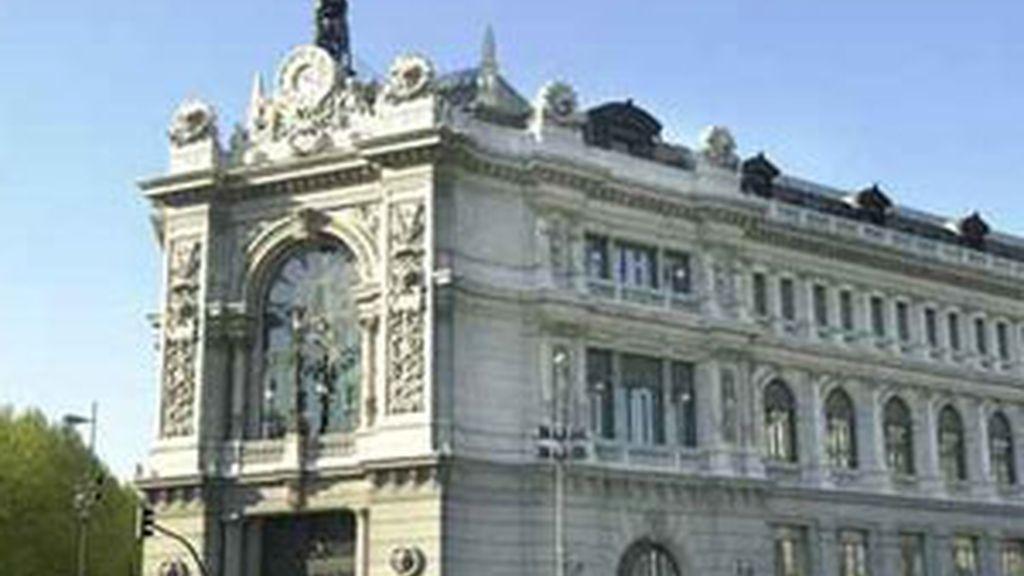 Imagen del Banco de España. Foto: EFE.