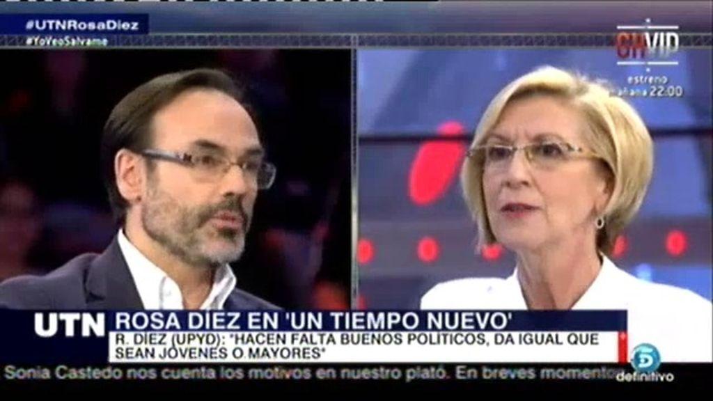 """Rosa Díez: """"No descarto presentarme a las elecciones generales a dia de hoy"""""""