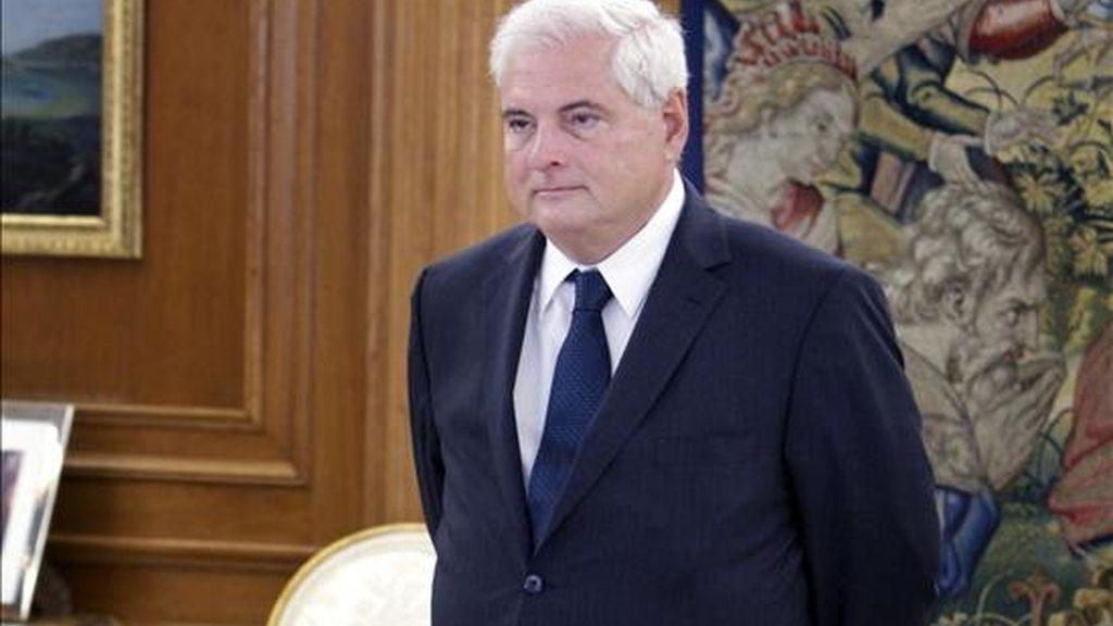 Martinelli volverá hoy mismo a Panamá para partir mañana, martes, hacia Brasil, donde se reunirá con el presidente de ese país, Luiz Inácio Lula da Silva. EFE/Archivo