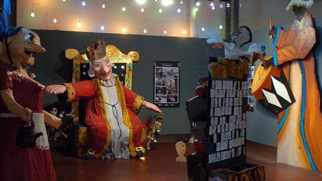 """Detalle del Museo del Carnaval de Montevideo (Uruguay). El museo recibirá el próximo viernes el VI Premio Internacional Reina Sofía de Conservación y Restauración del Patrimonio Cultural, por su contribución a la identidad local y a """"la democratización del arte"""". EFE"""