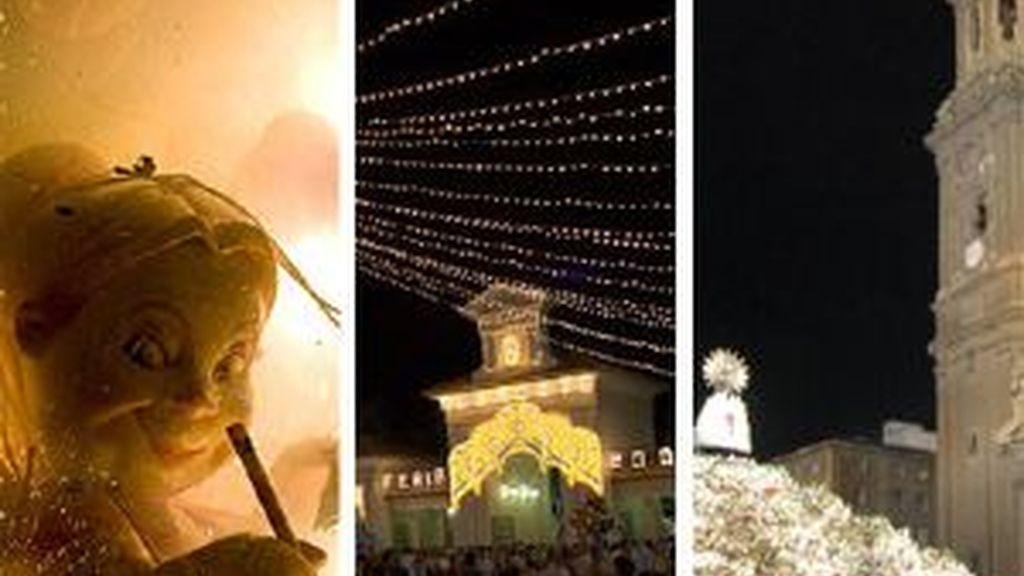 Las Fallas, la Feria de Albacete y el Pilar encabezan el ranking. Foto: EFE