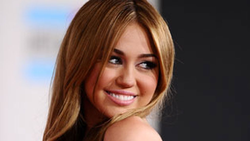 Miley Cyrus, en los American Music Awards. Foto: Gtres.