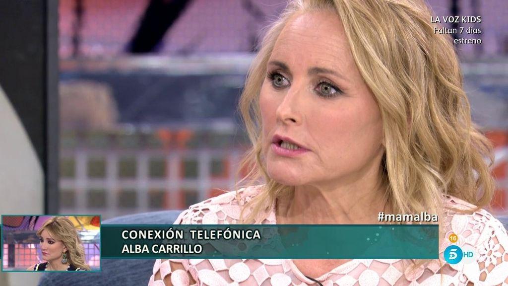 "Lucía, madre de Alba Carrillo: ""Feliciano López insultaba a colaboradores del 'Deluxe'"""