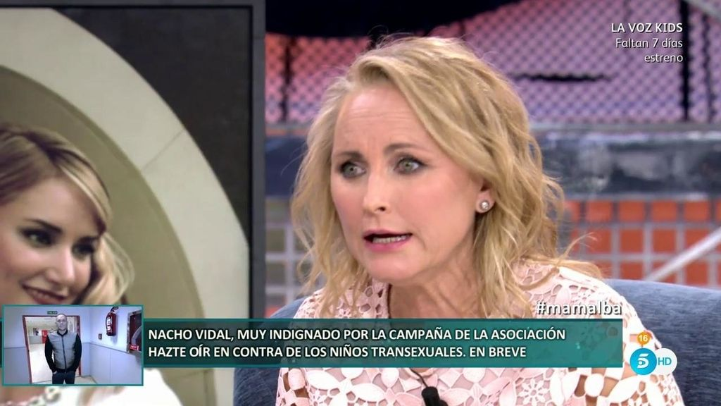 """Lucía, madre de Alba Carrillo: """"Fonsi Nieto aconsejó que sacara a Alba de la López Ibor"""""""