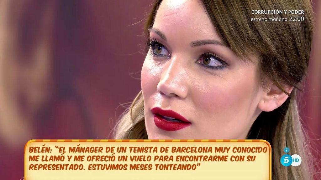 Belén Roca asegura haber recibido proposiciones de dos deportistas de élite