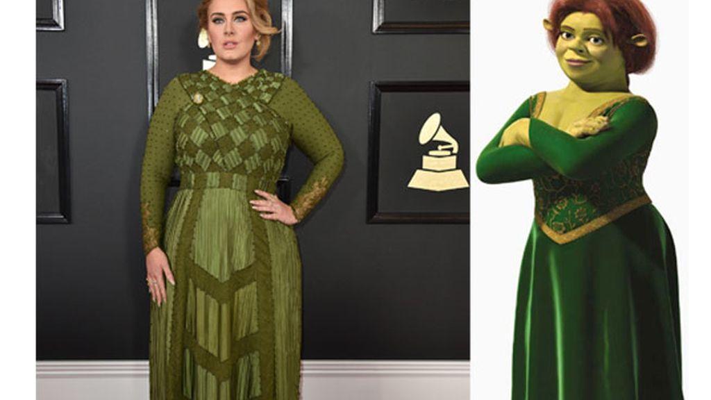 Adele y Fiona