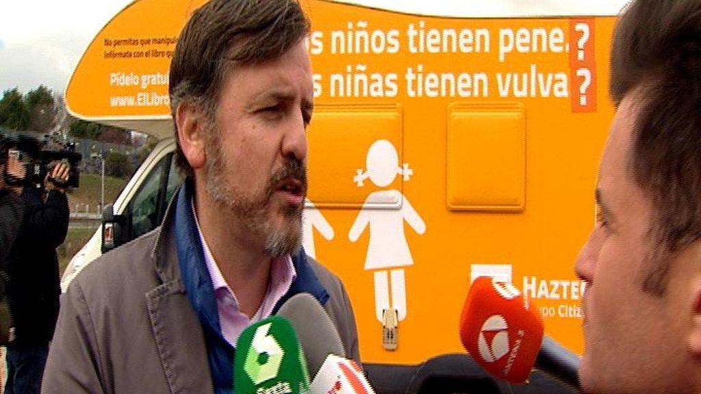 Interrogaciones para desafiar a la justicia: HazteOír vuelve a la carga